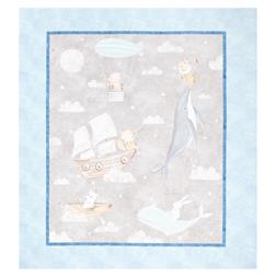 "Fabric Editions Adventures In The Sky Large 36"" Panel"
