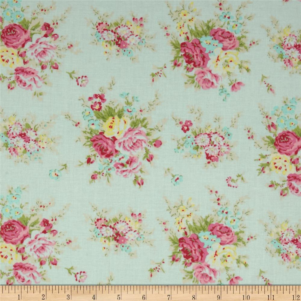 Tanya Whelan Rosey Little Bouquet Teal