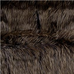 Luxury Faux Fur Fancy Ostrich Navy