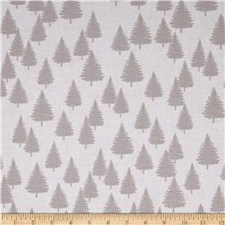 Moda Winterberry Winter Forest Snow/Stone