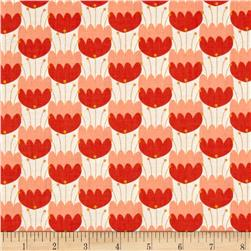 Camelot Enchanted Tulips Red-Orange