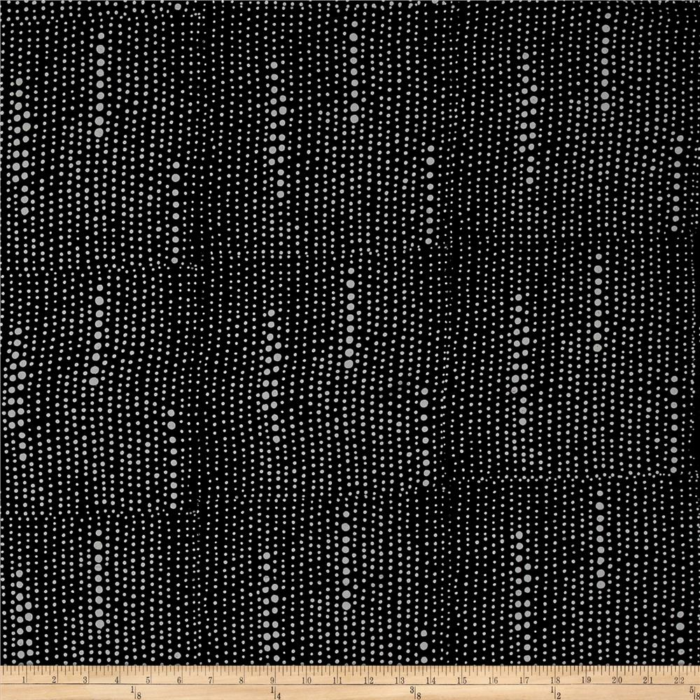 Alison Glass Handcrafted Batiks Chroma Pinpoint Charcoal