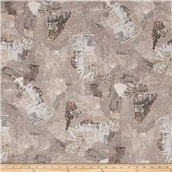Moda Compositions Maps Taupe