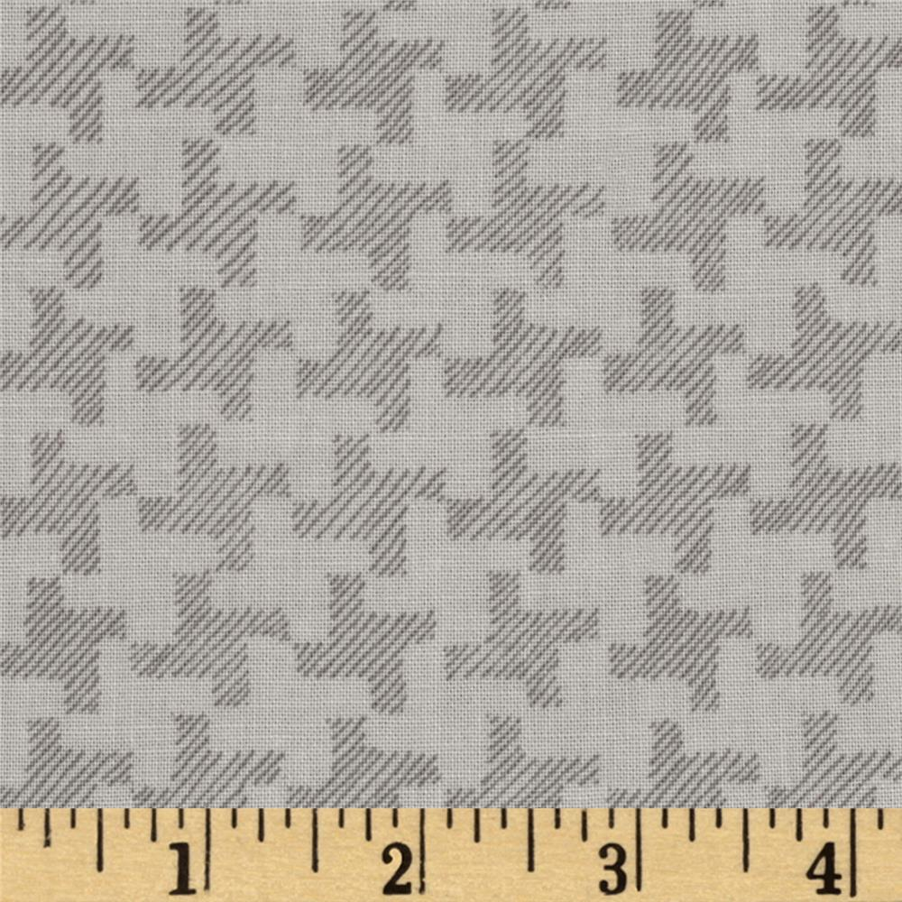 Jams & Jellies Houndstooth Grey