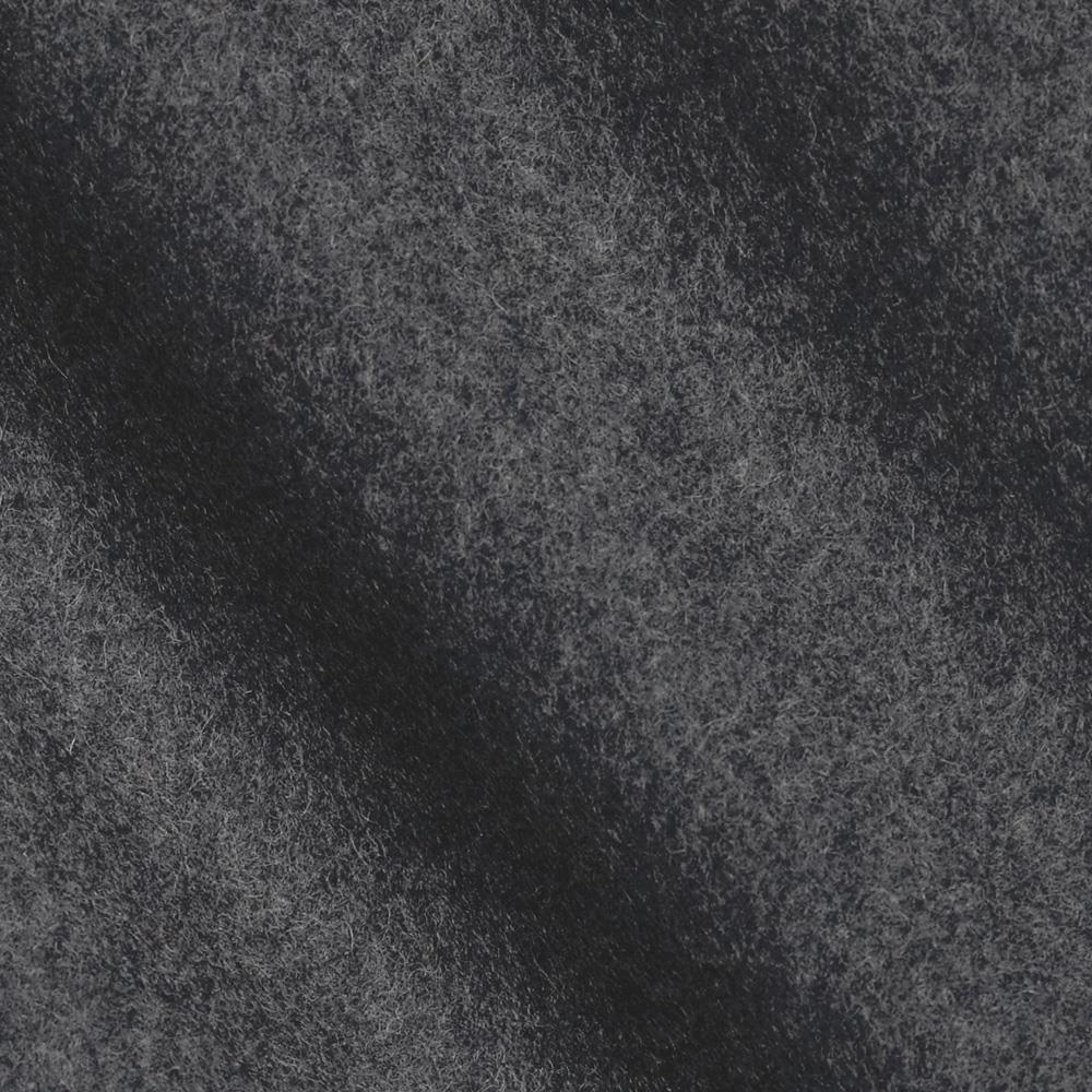 Wool Blend Melton Charcoal