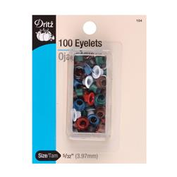 "Dritz Eyelets 5/32"" Assorted Colors"