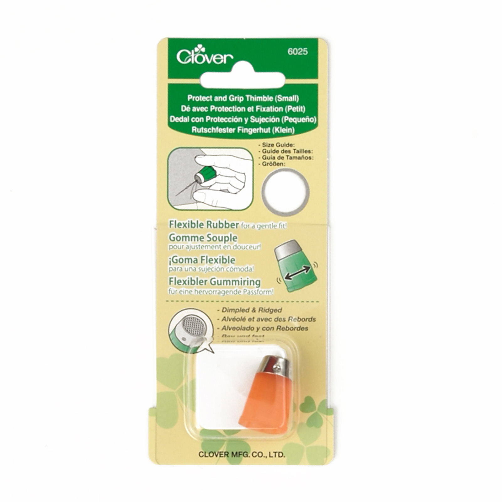 Clover Protect & Grip Thimble Small 0366610