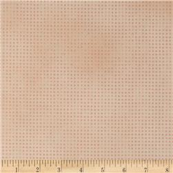 Mixmasters Dot-to-Dot Peach Fabric