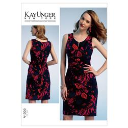 Vogue Misses' Dress Pattern V1303 Size B50