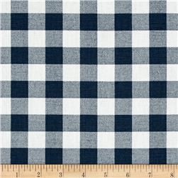 Premier Prints Plaid  Premier Navy