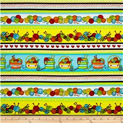 Knit Happy Large Stripe Multi