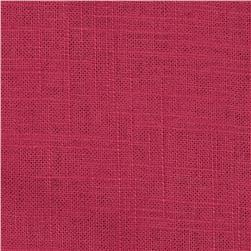 Harper Home Sunrise Linen Blend Raspberry