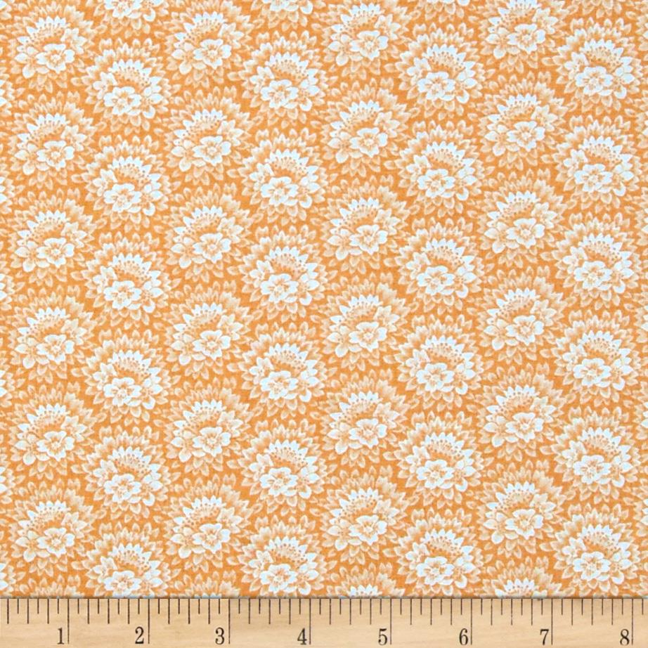 Jeweltone Classics Floral Apricot