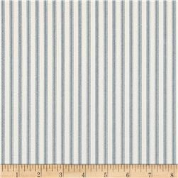 Magnolia Home Fashions Berlin Ticking Stripe Lake