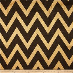 60'' Sultana Chevron Burlap Natural/Brown
