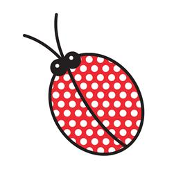 Simplicity Especially Baby Iron On Applique Ladybug