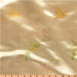 Chinese Brocade Butterflies Gold