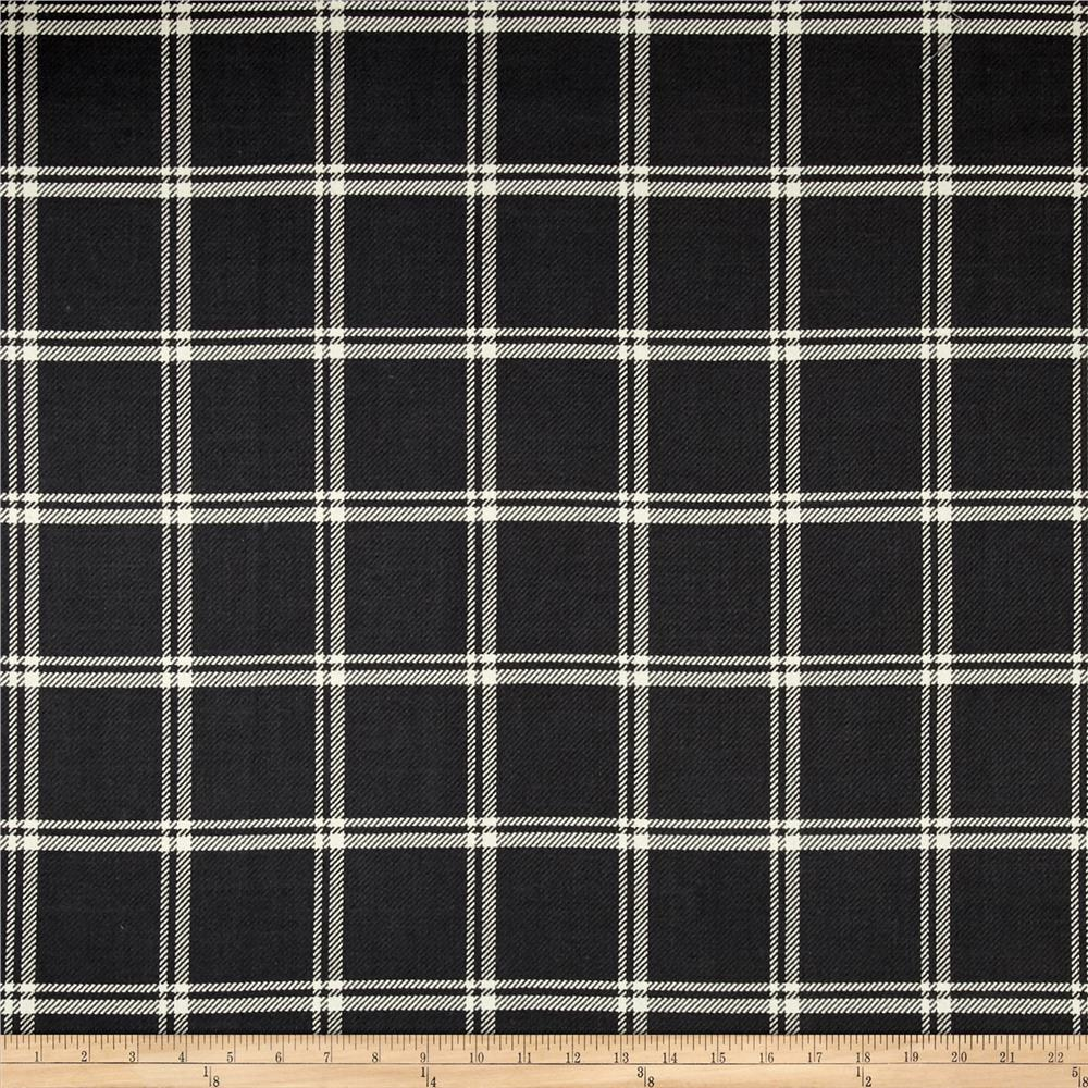 Waverly Bloomsbury Plaid Twill Pewter