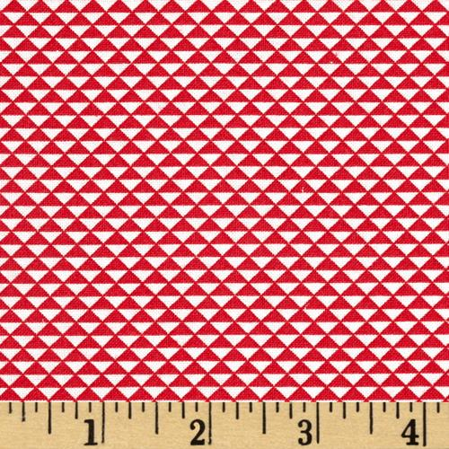 Hazel Triangles Red