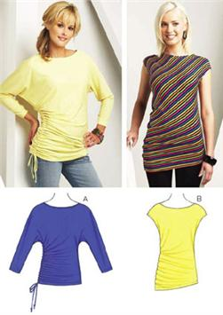 Kwik Sew Shirred Tops Pattern