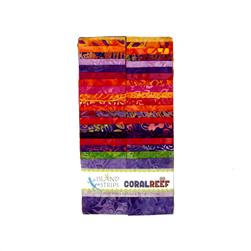 "Island Batik Coral Reef 2.5"" Strip Pack"