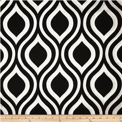 Premier Prints Emily Black Fabric