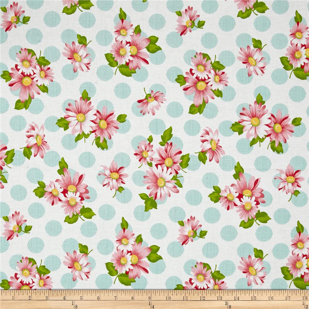 Moda Sew & Sew Doopsy Daisy Berrylicious Fabric By The Yard