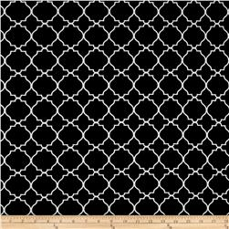 Bryant Indoor/Outdoor Morocco Lattice Jet Black