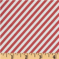 Moda Little Miss Sunshine Candy Stripe Berry