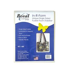 Bosal In-R-Form Single Sided Fusible 1/2 yard Foam Stabilizer