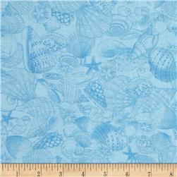 Exclusively Quilters Inspirations Tonal Shells Blue