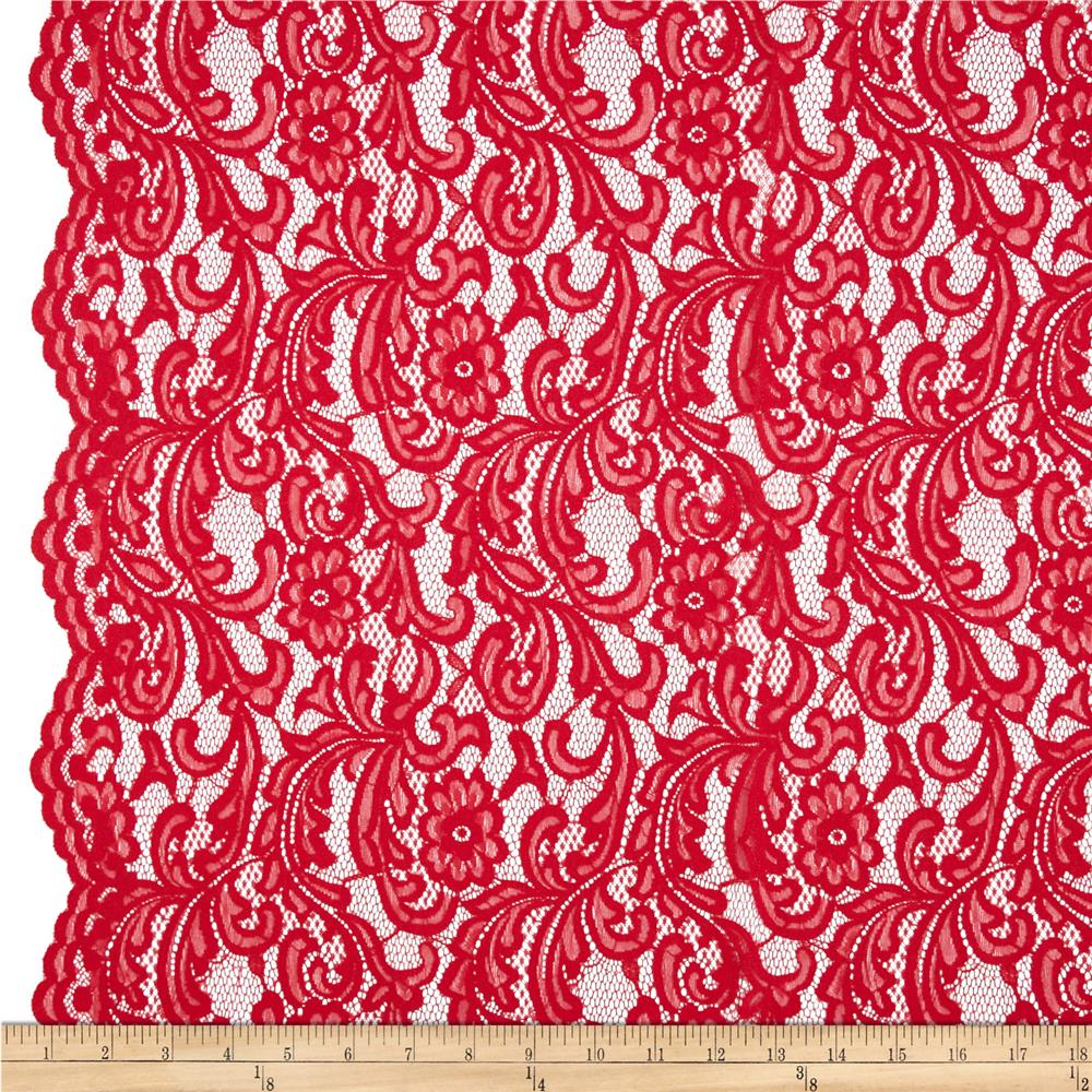 Lucy Lace Red