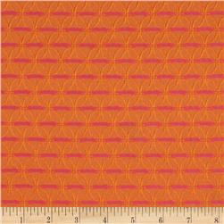 HGTV Home On The Web Jacquard Papaya
