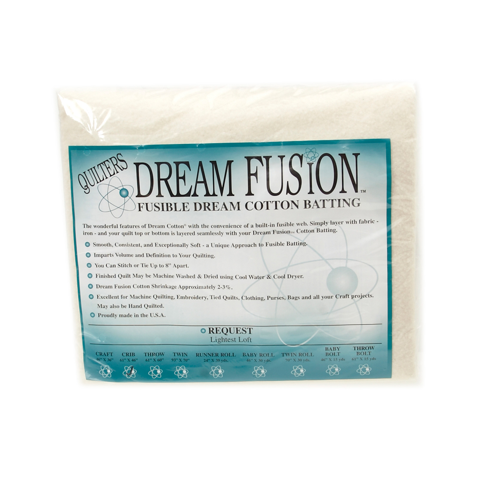 Quilter's Dream Fusion Cotton Request (46'' x 60'') Crib by Quilter's Dream in USA
