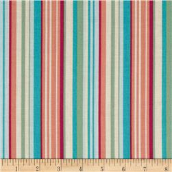 Grace Stripe Teal