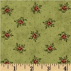 Moda Under the Mistletoe Tiny Holly Mistletoe