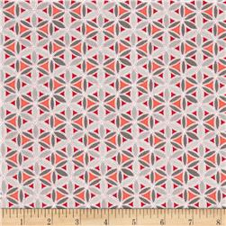 Sparkle Dot Geo Red/Grey