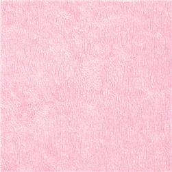 Terry Knit Soft Baby Pink