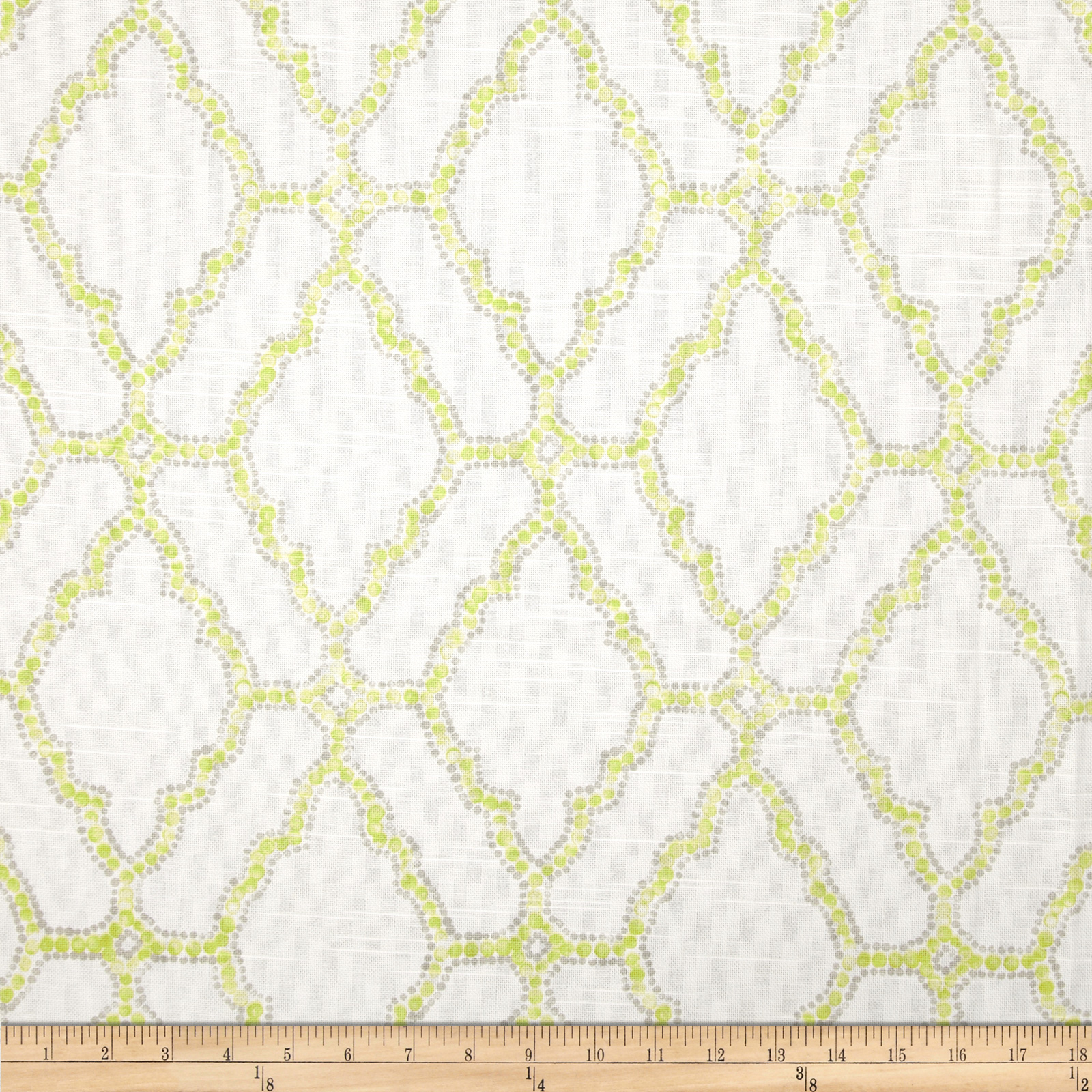 Lacefield Kai Slub Spring Fabric by Lacefield in USA