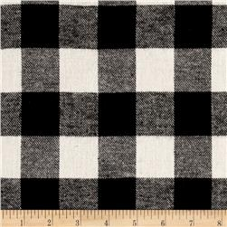 Flannel Buffalo Check Black/White
