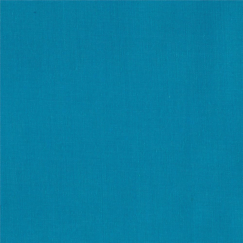 "60"" Poly Cotton Broadcloth Aqua"