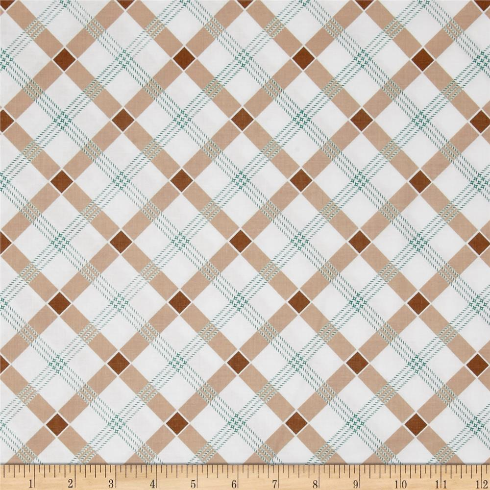 Penny Rose Apple Farm Plaid Brown
