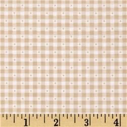 Sorbets Gingham Tan