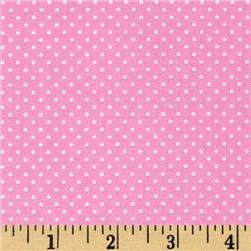 Timeless Treasures Mini Polka Dots Pink