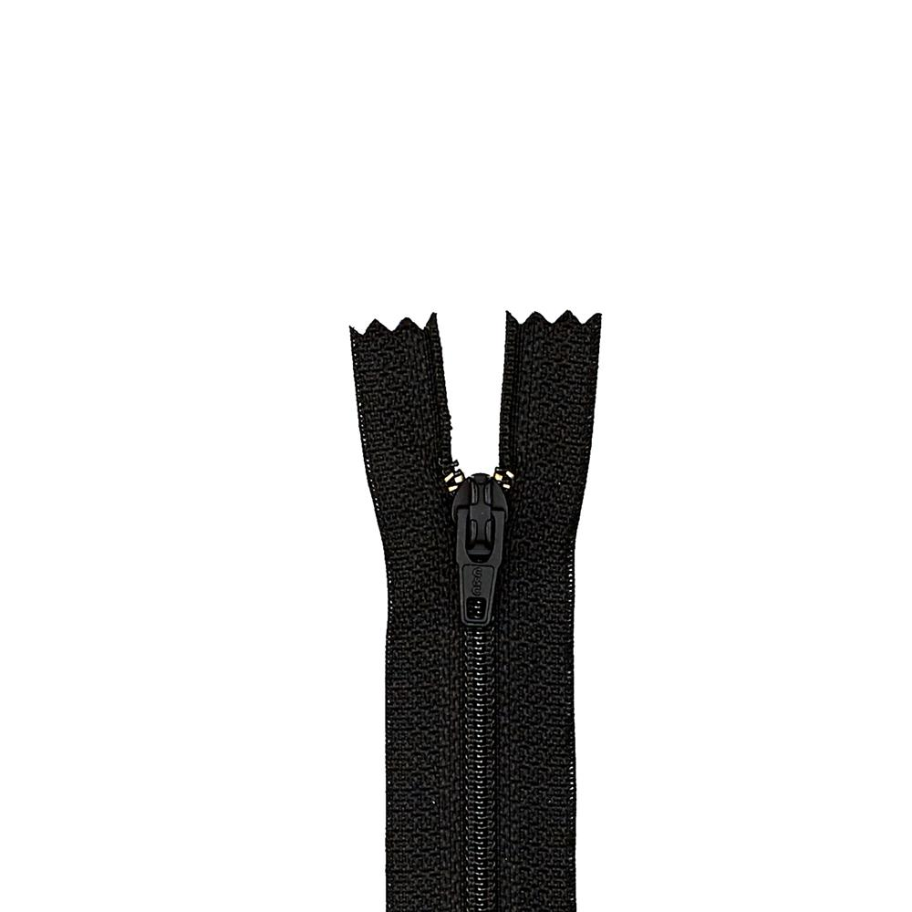 "Trouser Zipper 11"" Black"