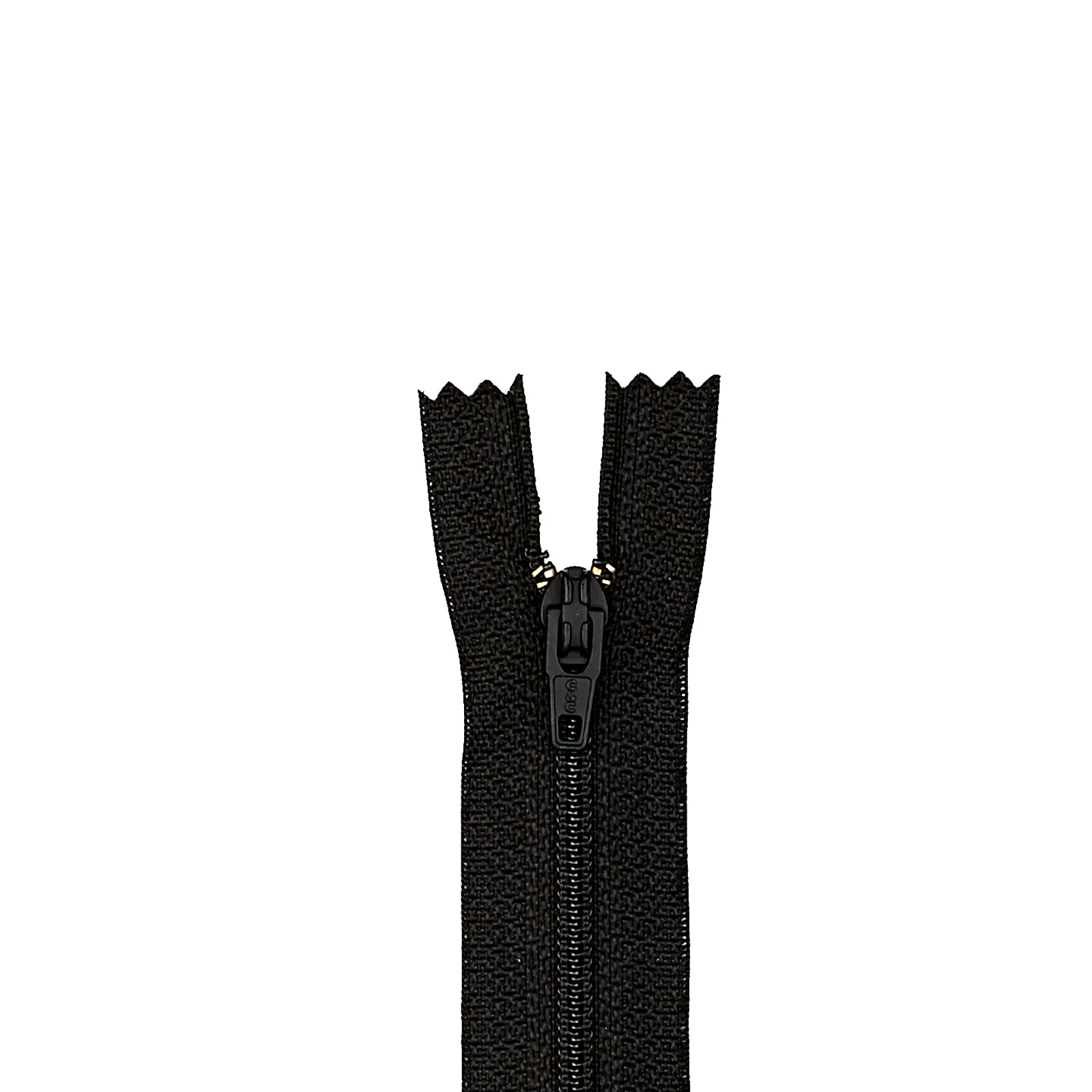 Trouser Zipper 11'' Black