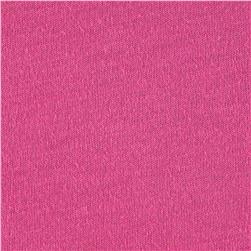 Designer Jersey Knit Solid Hot Pink
