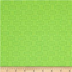 Moda Bandana Basket Weave Hippie Green