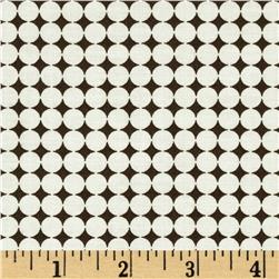 Word Play Dots Cream/Brown