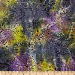 Indonesian Batik Swirl Blue/Purple